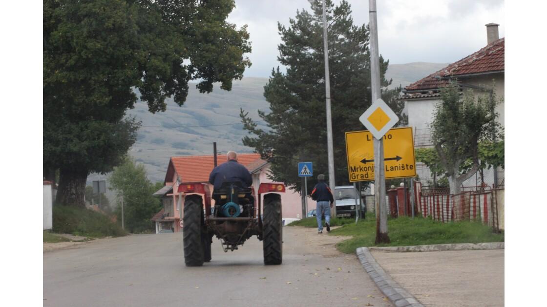 Reportage en Bosnie