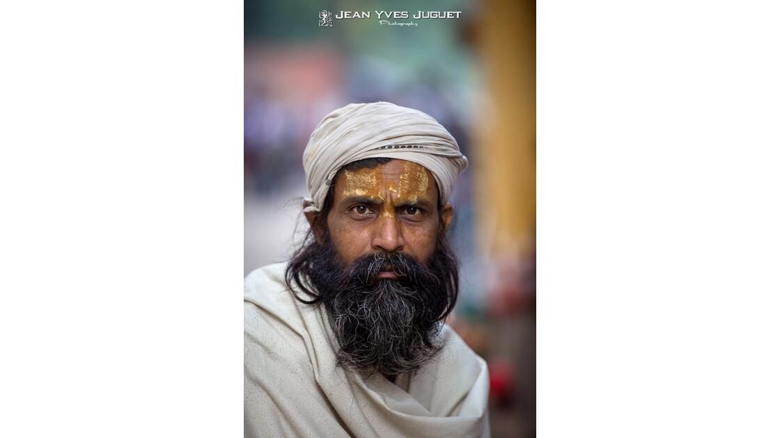 Sadhu du Gange (Inde)