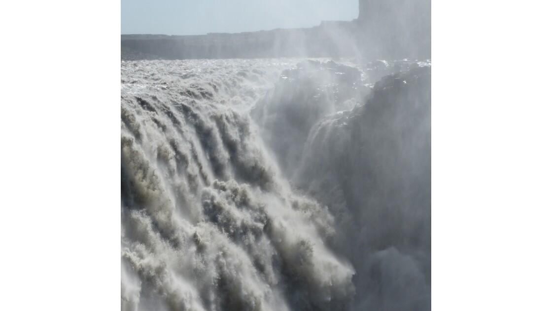 chutes d'eau islandaises