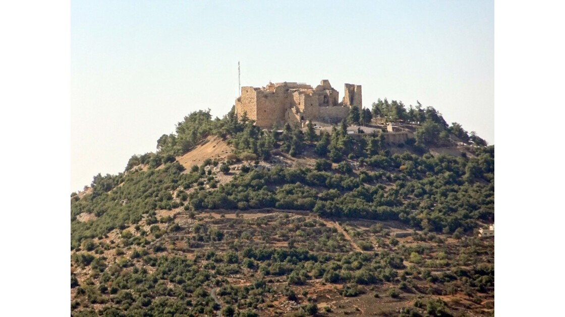 Jordanie Forteresse arabe d'Ajlun 1