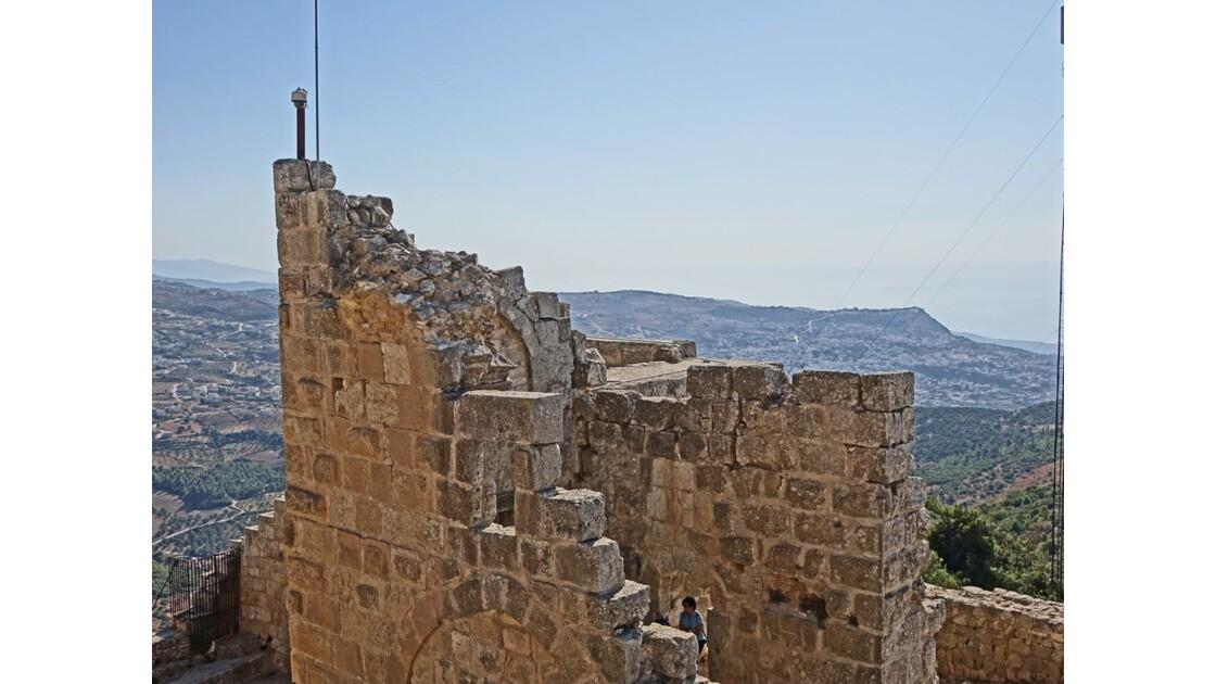 Jordanie Forteresse arabe d'Ajlun 2