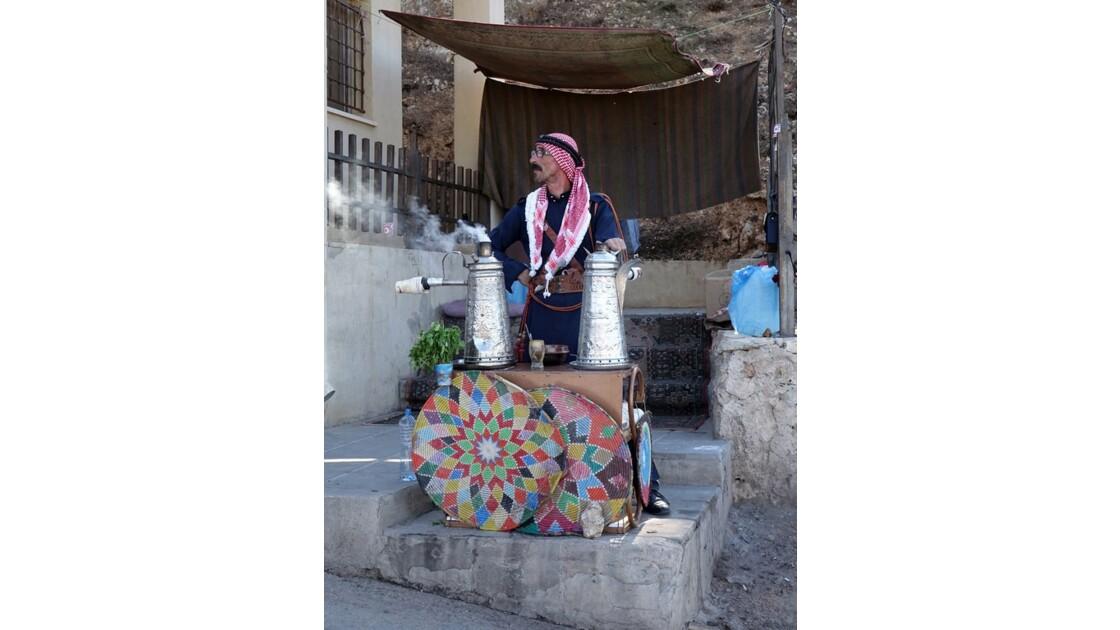 Jordanie Forteresse arabe d'Ajlun le thé 1