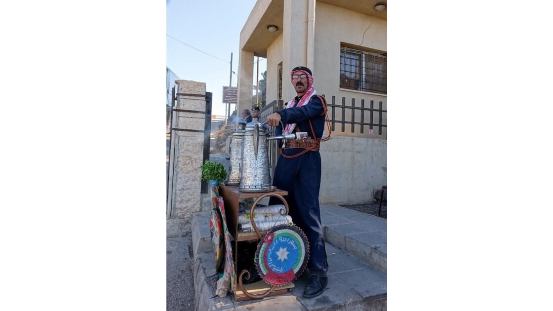 Jordanie Forteresse arabe d'Ajlun le thé 2