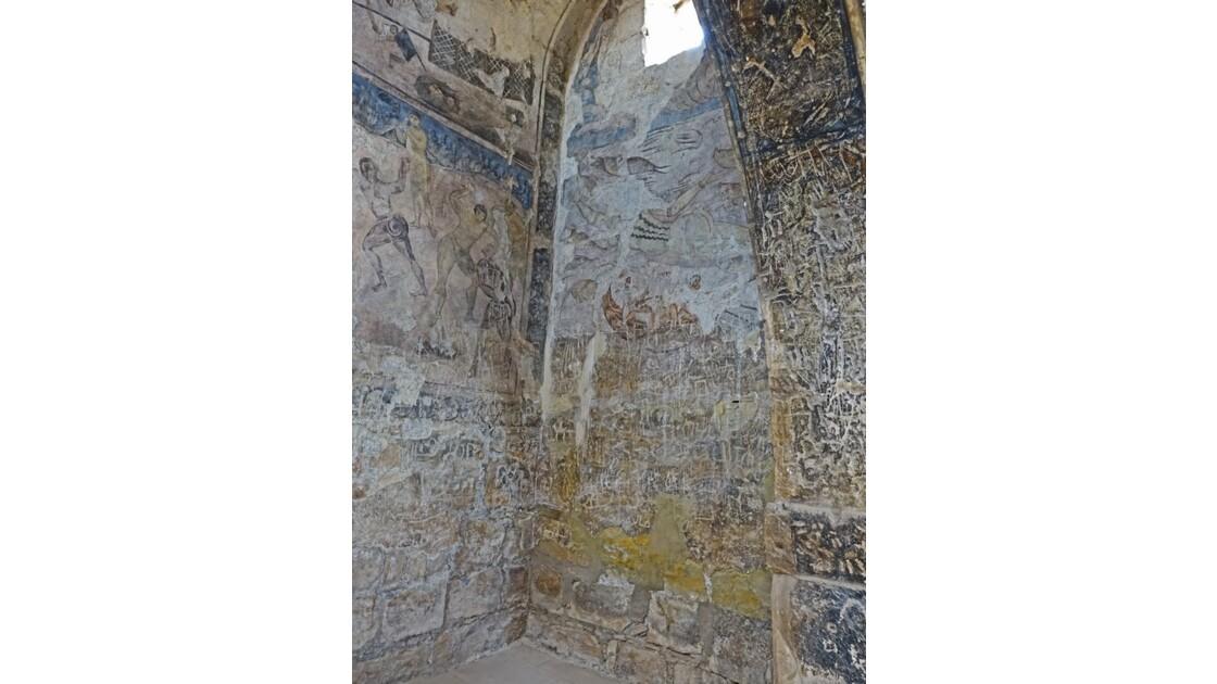 Jordanie Qasr Amra fresques de la salle de réception 5