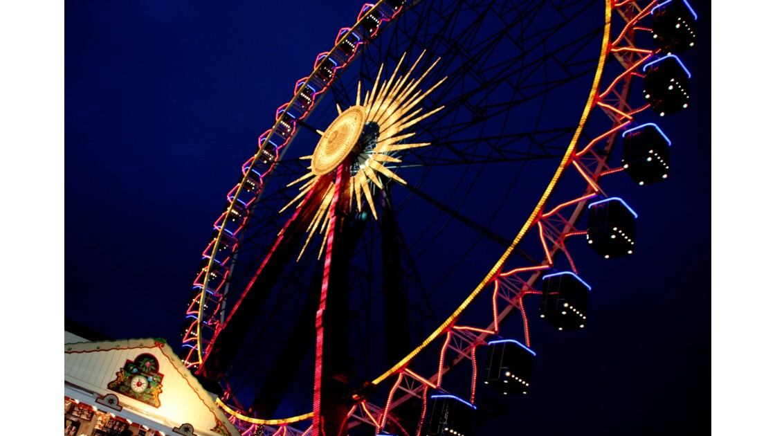 Grande roue de Noel