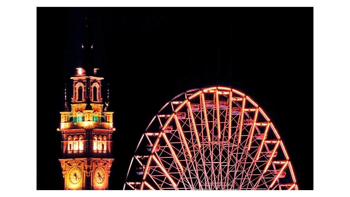 La Grande Roue de Lille à Noël