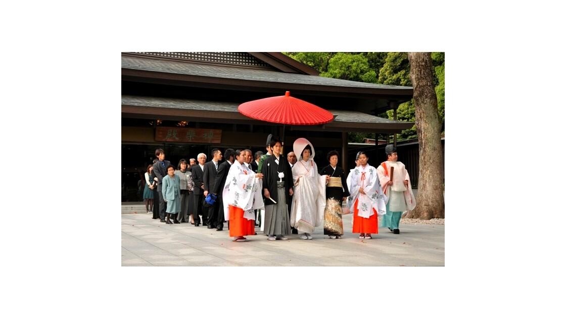 Mariage Shintoiste