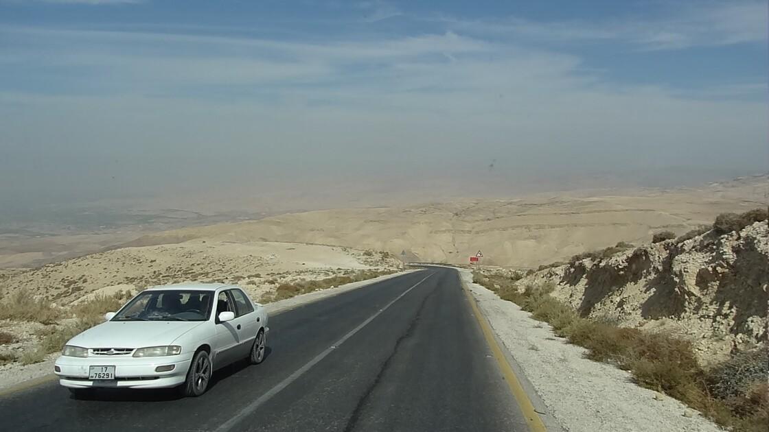 Jordanie Sur la route de Madaba à Kérak