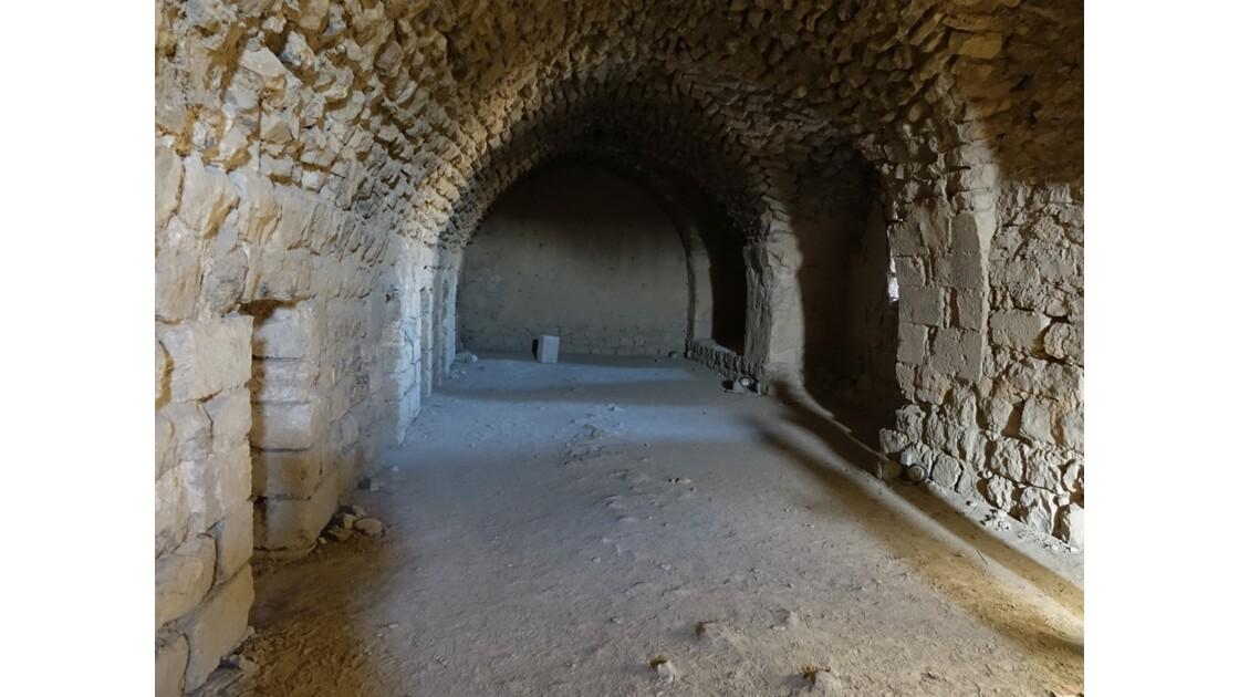 Jordanie Kérak Citadelle des croisés les souterrains 2