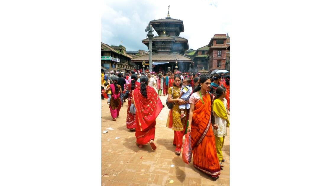 Fête du Tij à Katmandou