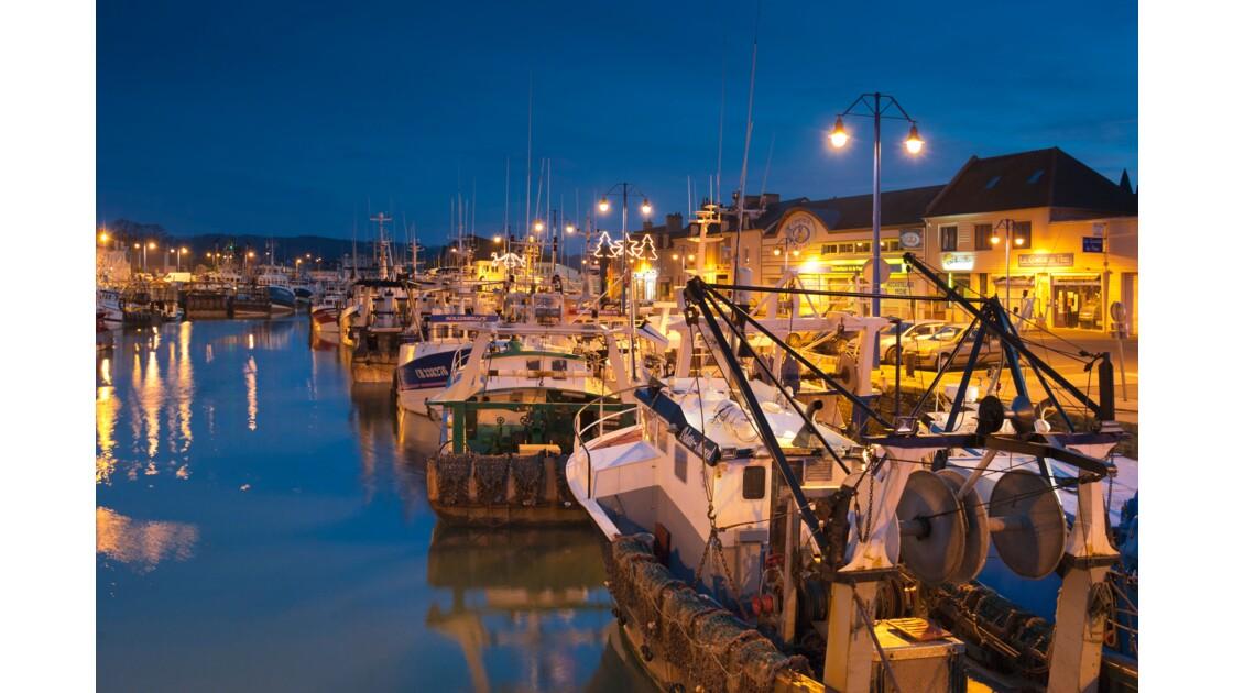 Port en Bessin à Noël 2
