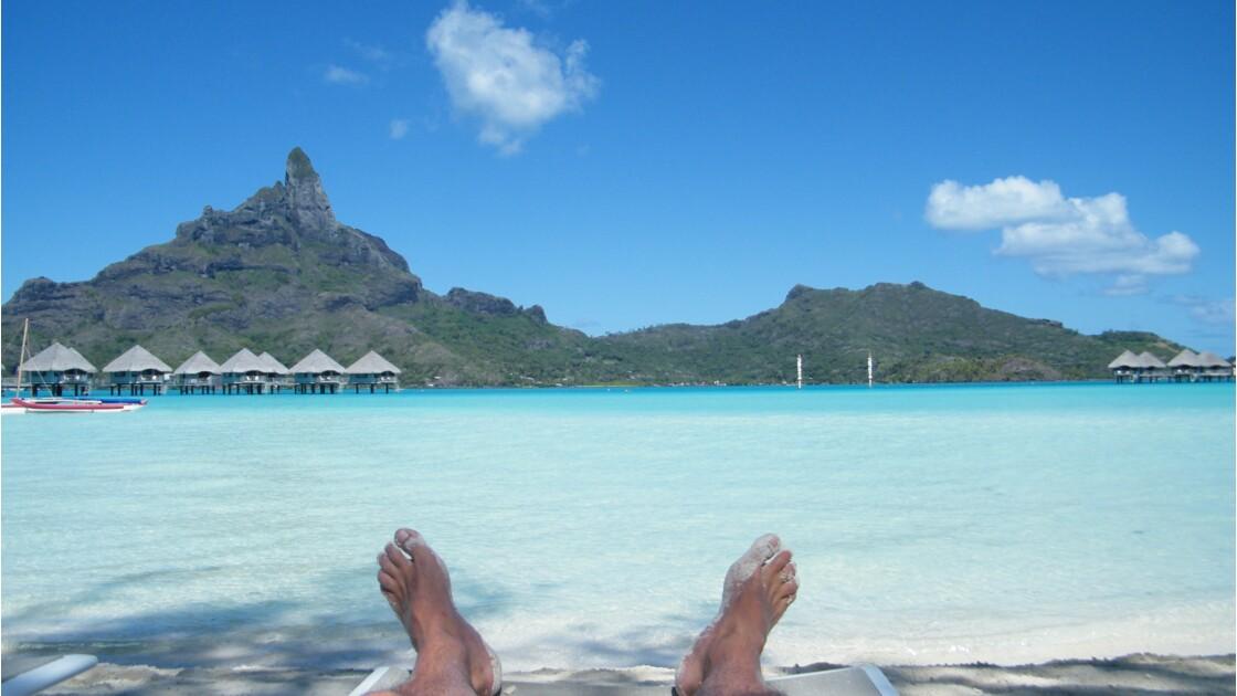 Plage de Bora Bora - Farnienté