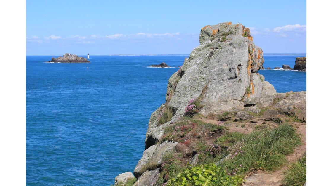 Bretagne : la Pointe du Groin ferme à l'ouest la baie du Mont St-Michel