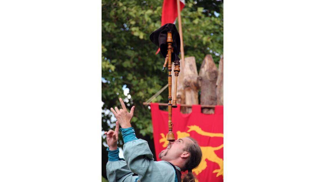 Fête médiévale Chauvigny