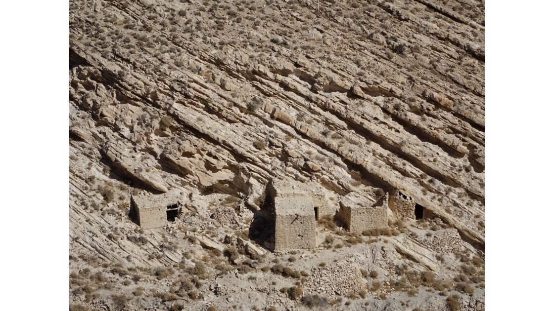 Jordanie Shawback Habitations troglodytes 1