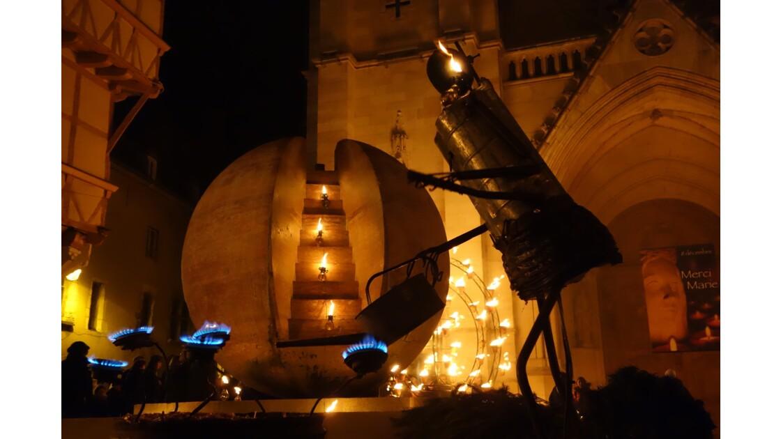 Fête des lumiéres Chalon sur Saone