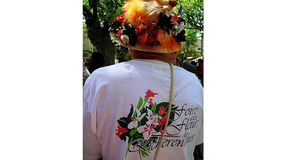 Foire aux fleurs de Richerenches (Drôme)
