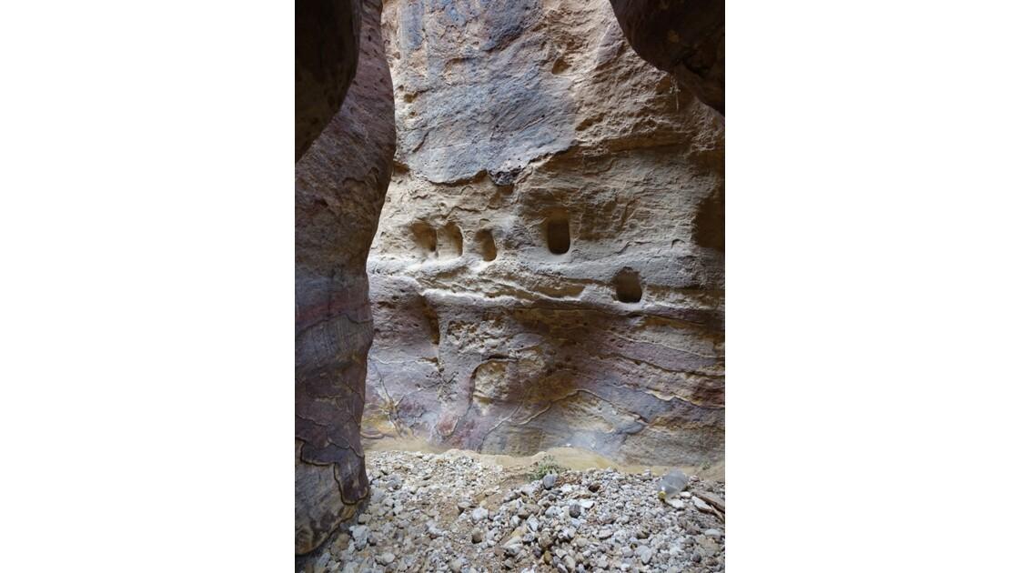 Jordanie Pétra Wadi El Metaha 6