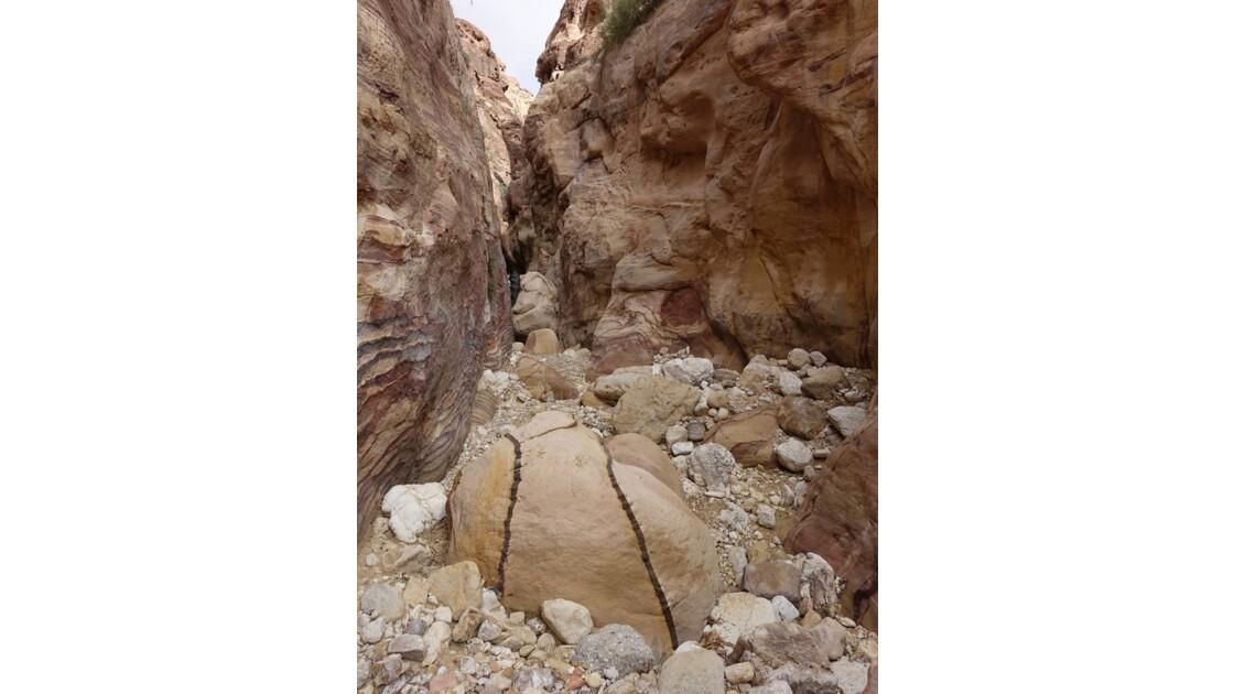 Jordanie Pétra Wadi El Metaha 9