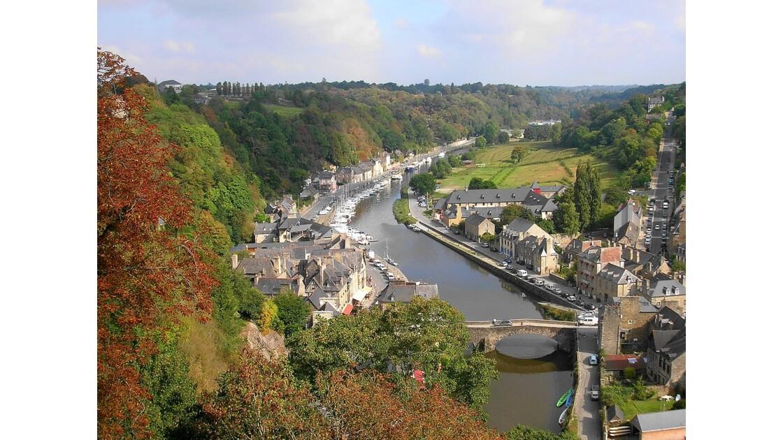 Automne en Bretagne , Dinan ( 2009)