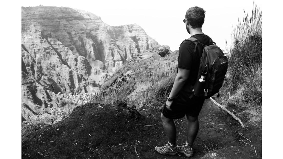 Sur les sentier de la Napali Coast