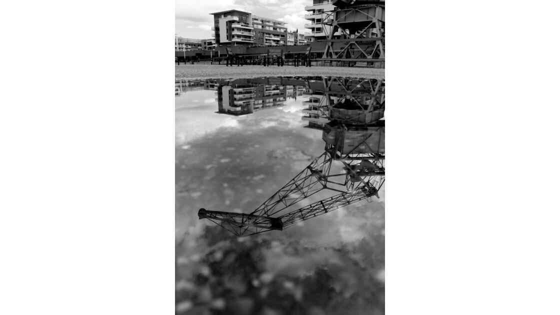 Reflet du passé économique et portuaire de Strasbourg