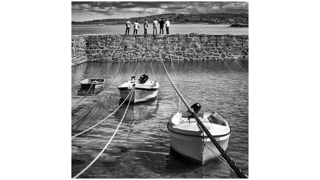 GEO - La vie au bord de l'eau. Port Racine (Manche)