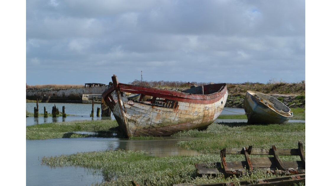 Cimetière des bateaux, Noirmoutier