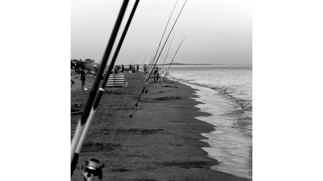 Fin de journée à la plage