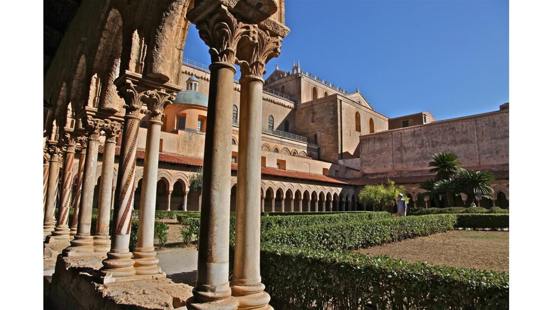 Le Cloître de Monreale (Palerme-Sicile)