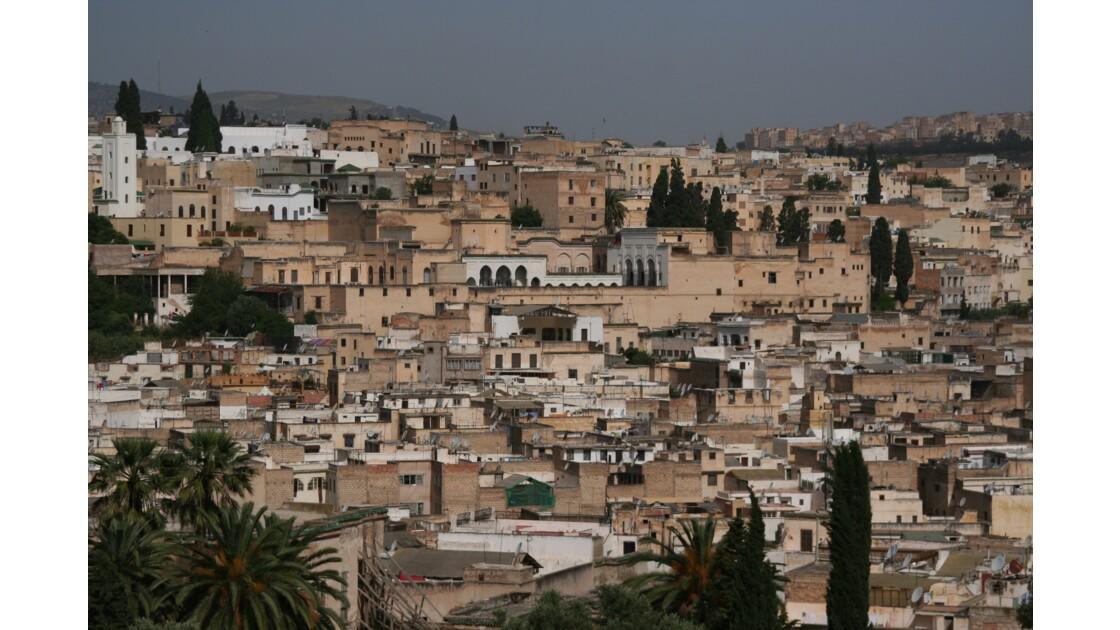 Fes vue sur l'ancienne Medina Maroc