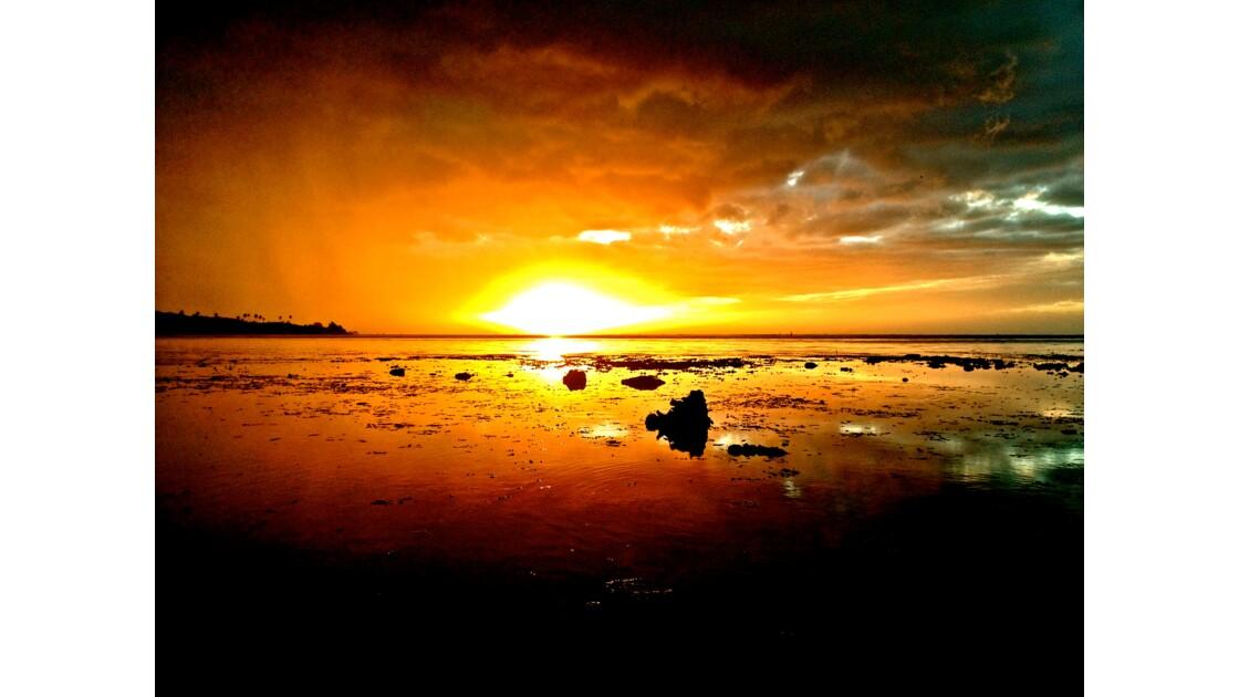 Lagon tahitien