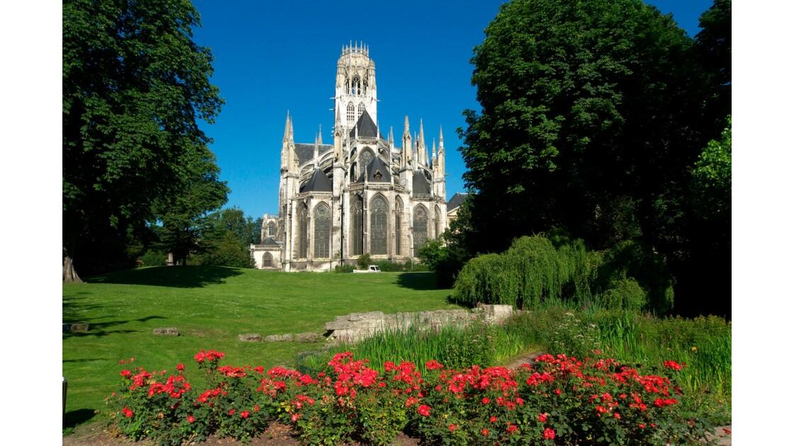 Jardin public de l'église St-Ouen
