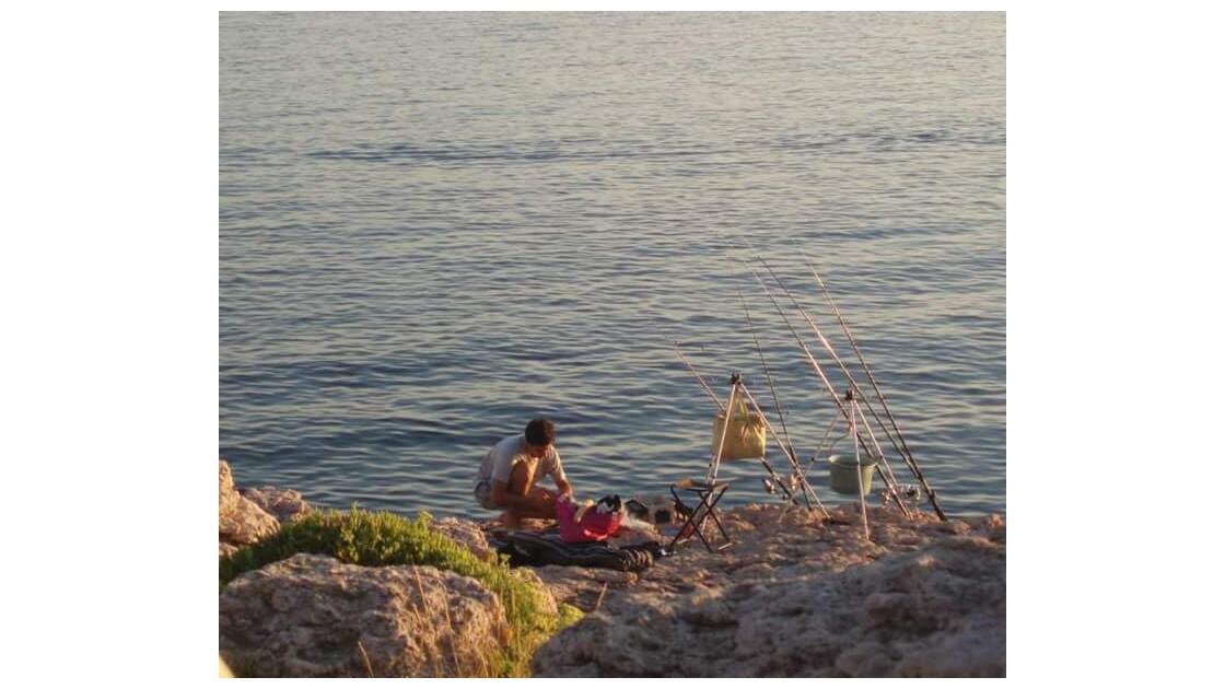 Nuit de pêche (préparatifs)