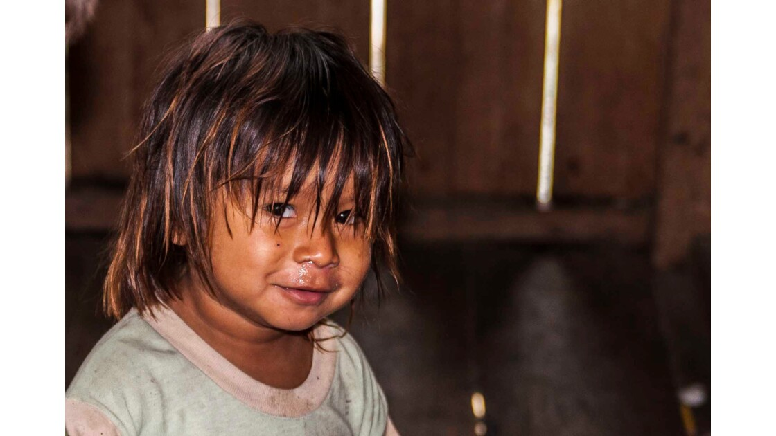 Portrait de jeune Amazonien