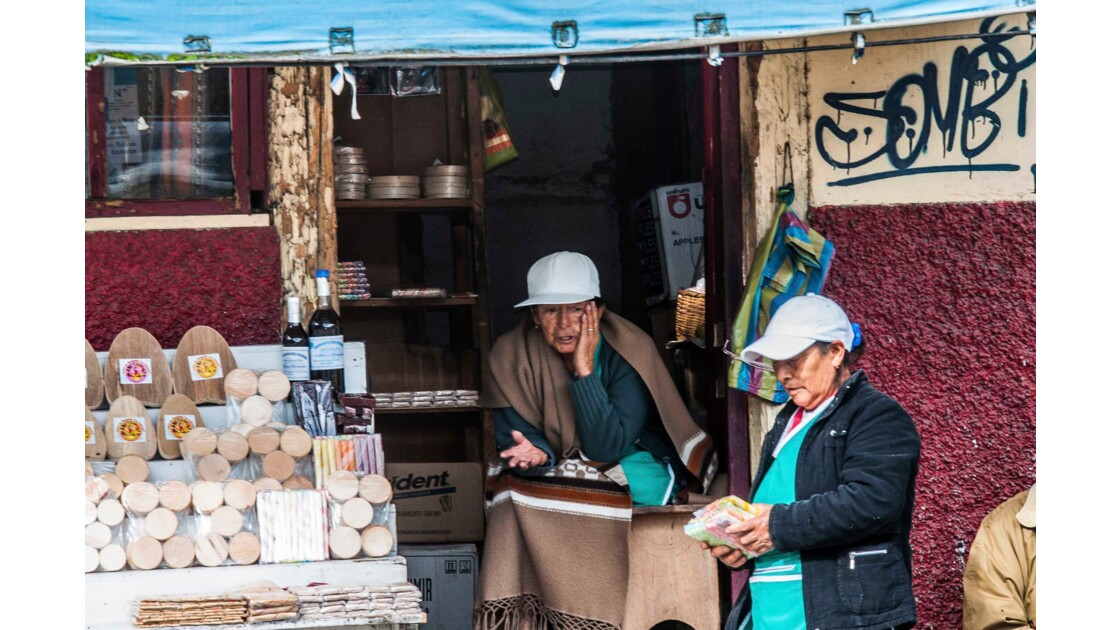 Vendeuse de pate de goyave (Cuenca)
