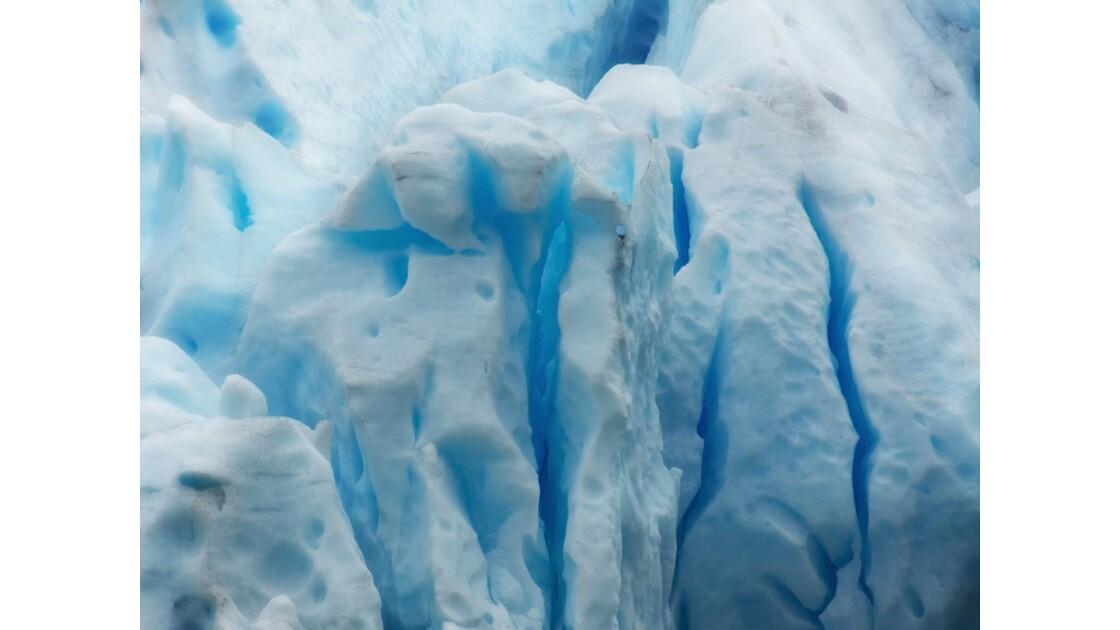 Dans le coeur du glacier
