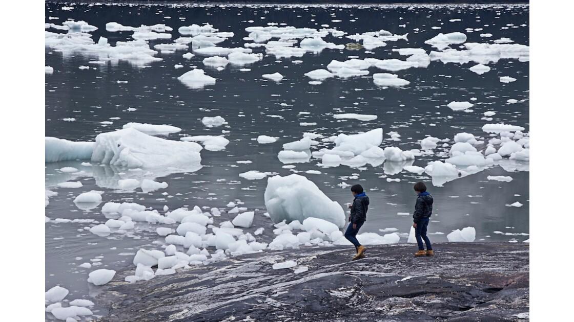 au dessus des icebergs