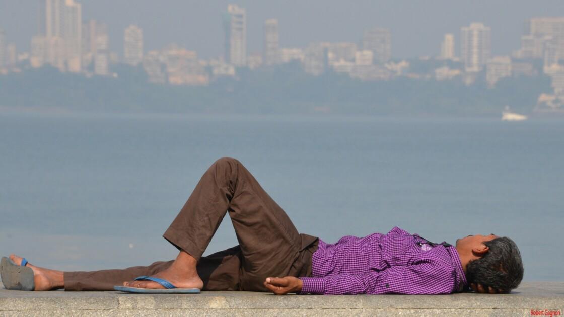 Sieste à Mumbai