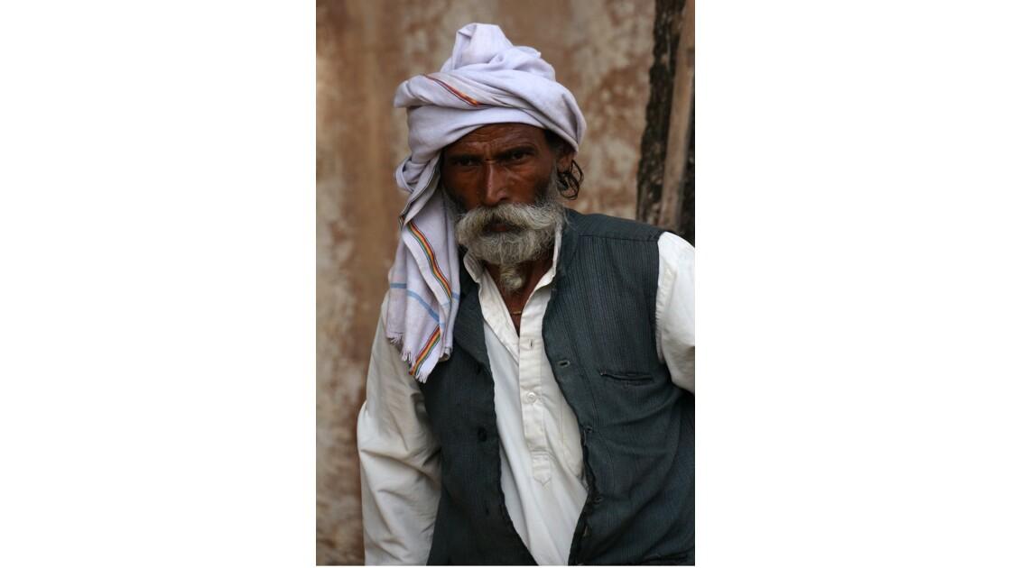 Portraits, Rajasthan, sourires, couleurs, sens en émoi, accueil, émotions.