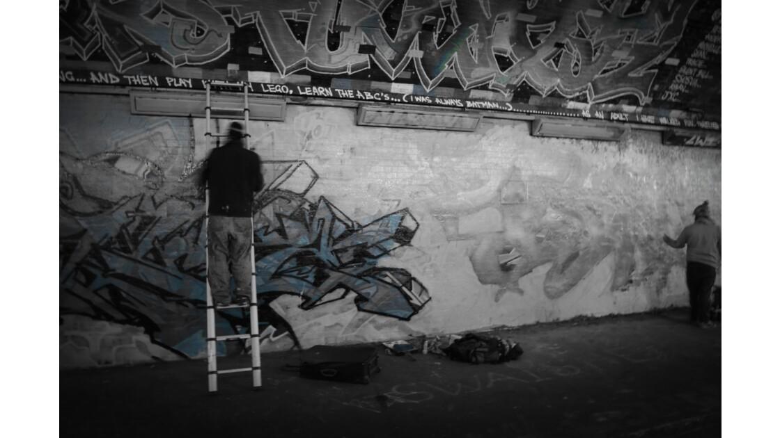Graffeur londres