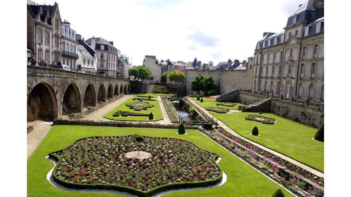 Jardin des remparts de Vannes