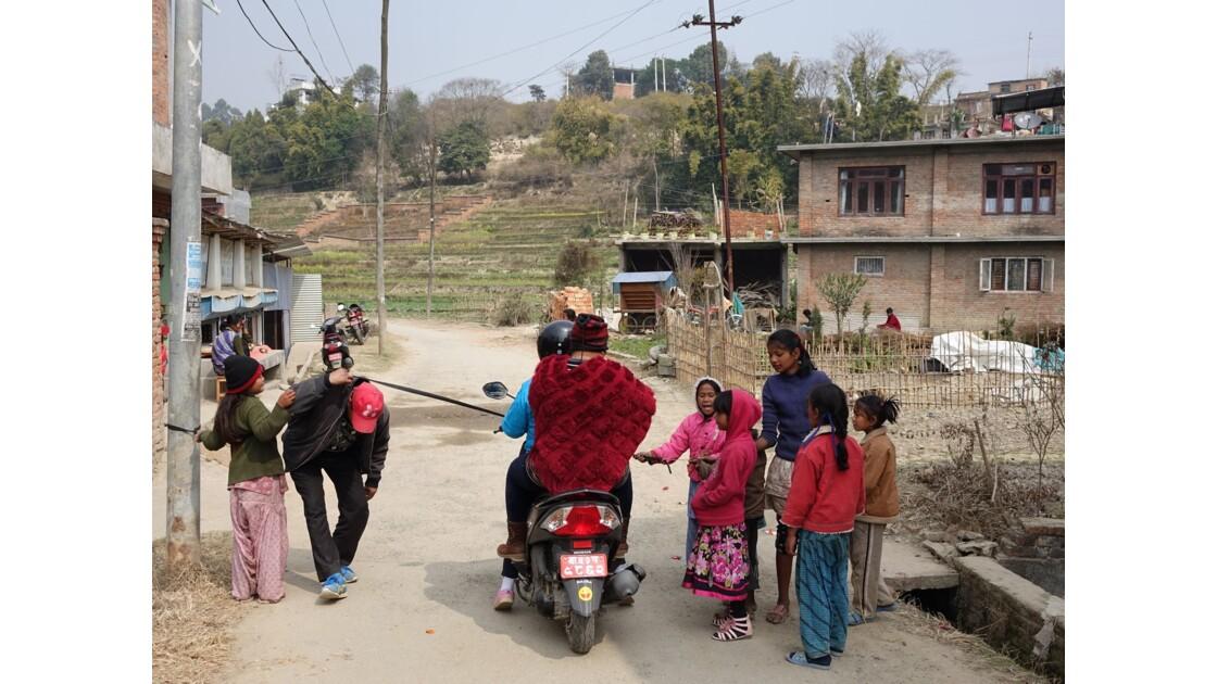 Népal Khokana avant la fête