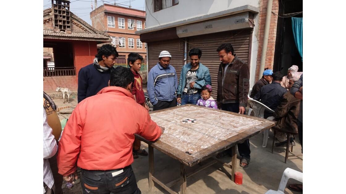 Népal Khokana Billard népalais 2