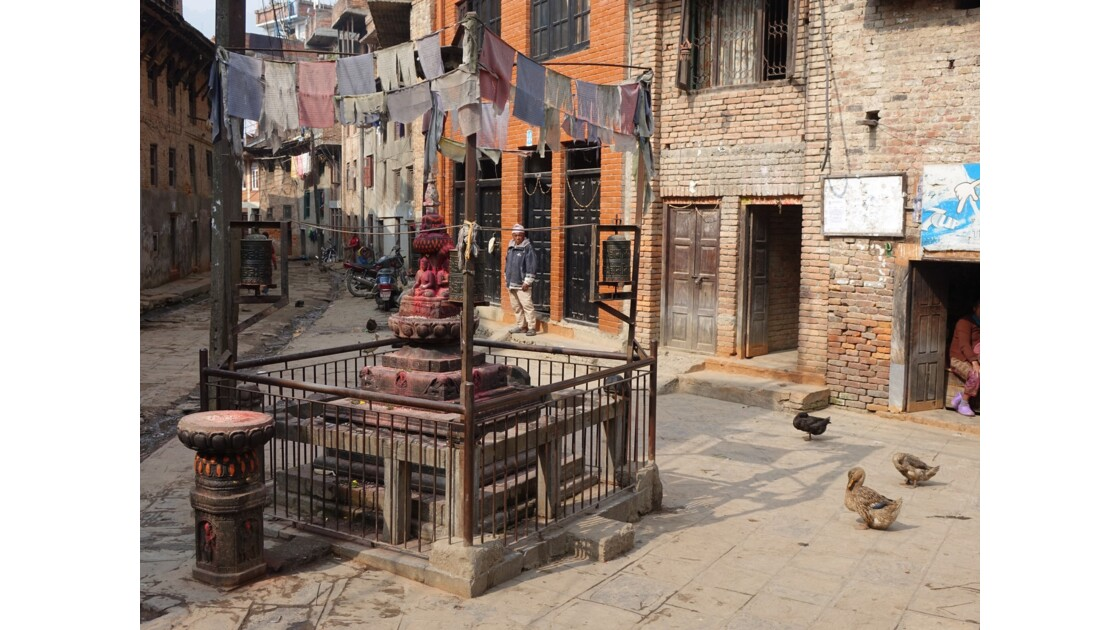 Népal Khokana Petit Sikhara