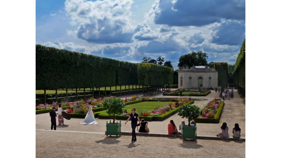 Jardin du Trianon à Versailles