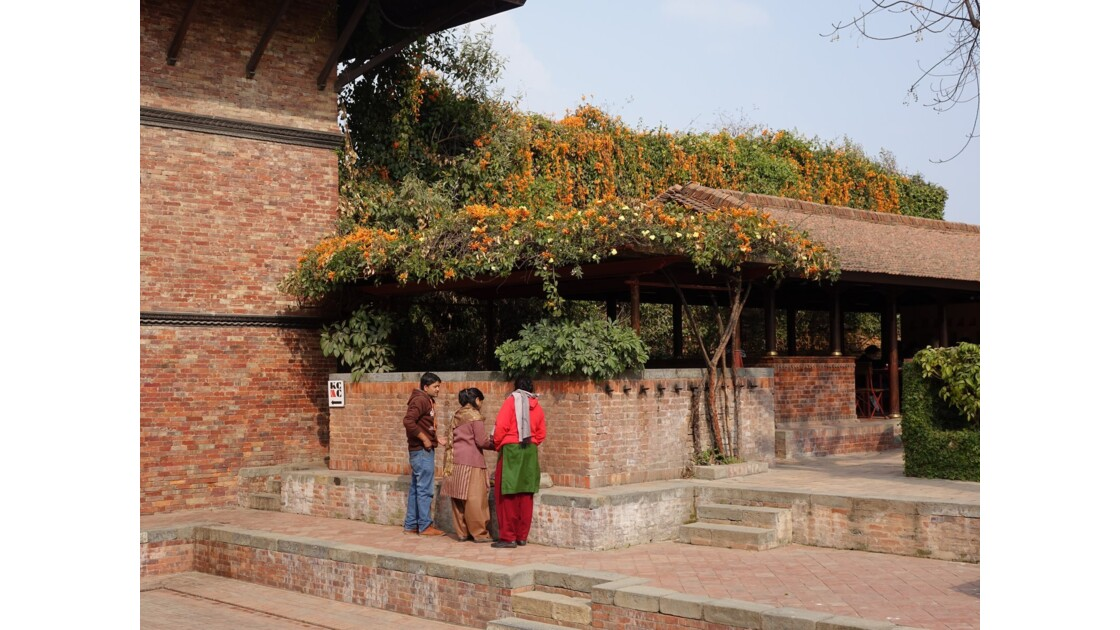 Népal Patan Palais royal Keshav Narayan Chowk offrande 4