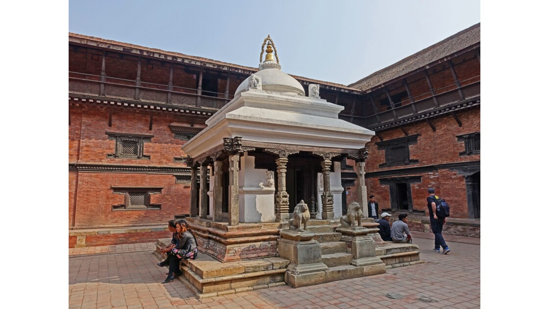 Népal Patan Palais royal temple de Keshav Narayan 1