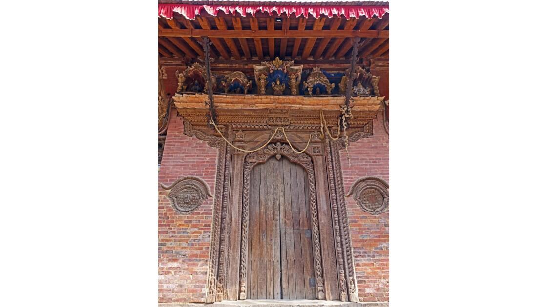 Népal Patan Durbar Square Porte de Bhairab 2