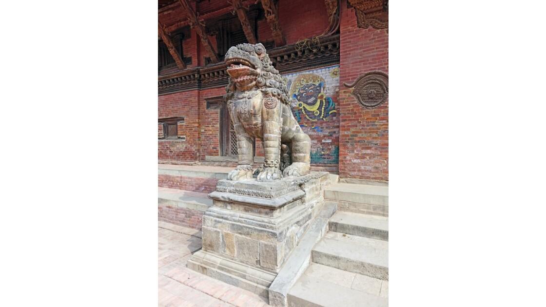 Népal Patan Durbar Square Porte de Bhairab 3